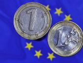 Флаг Евросоюза и монеты