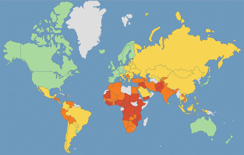 Рейтинг самых опасных и безопасных стран мира и статистика по уровню преступности за 2018–2019 годы