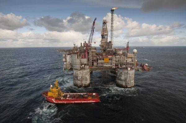 Нефтяная платформав Норвегии