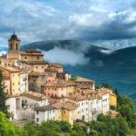 Городок в центральной Италии
