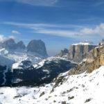 Пейзаж в итальянских Альпах