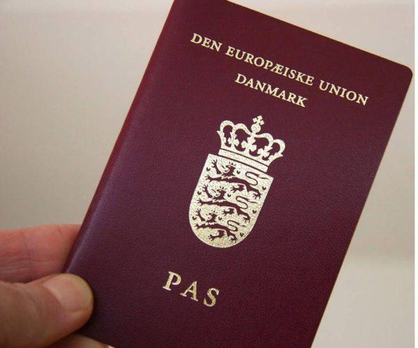 датский паспорт