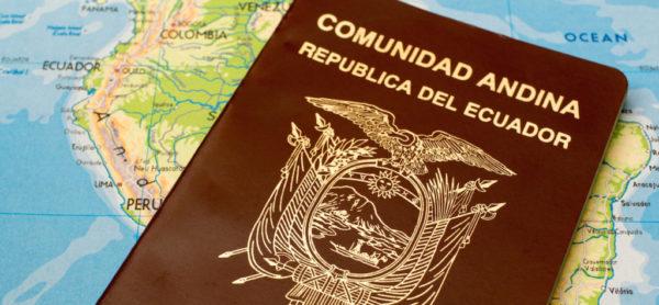 Паспорт гражданина Эквадора