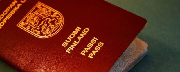 Паспорт Финляндии