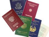 Узбек с паспортом