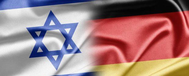 флаги Израиля и Германии