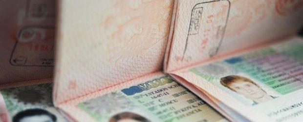 Паспорта с визами