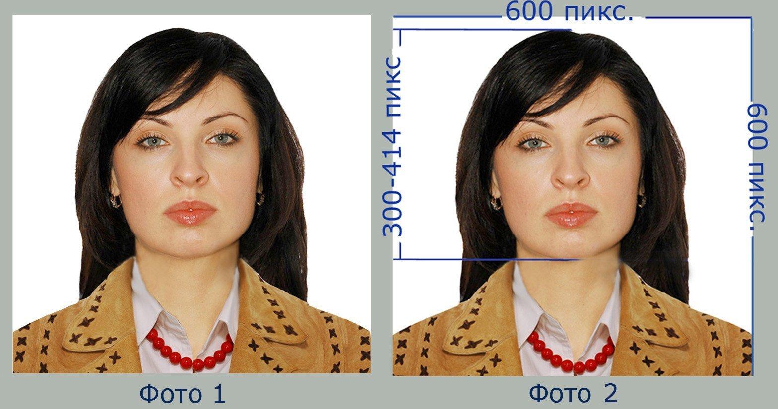 Фото на грин карту примеры