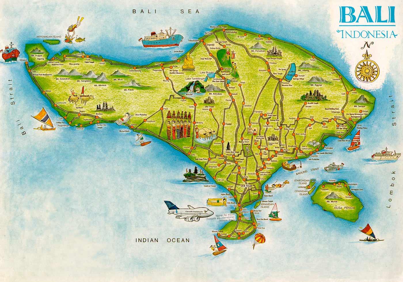 Всё о визах на Бали