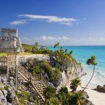 Пляж в Мексике