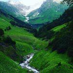 Горный ручей в Абхазии