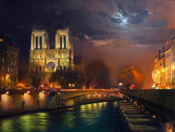 собор парижской богоматери пожар