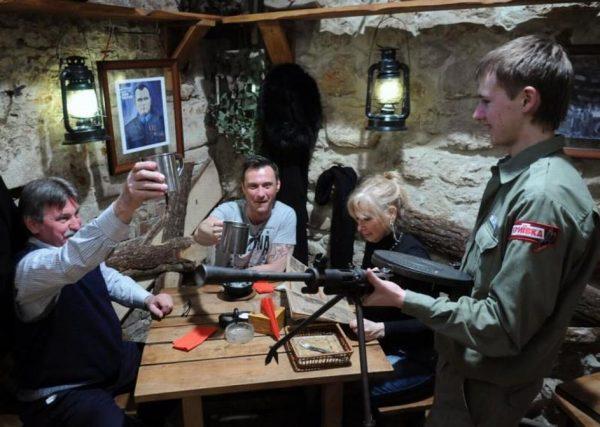 Внутренняя обстановка кафе «Криивка»
