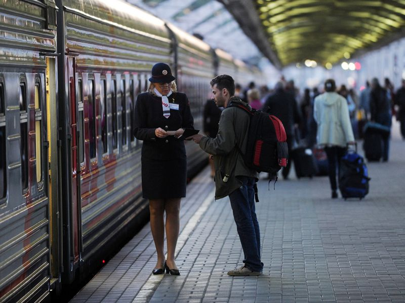 Почему нельзя обмениваться местами в поезде