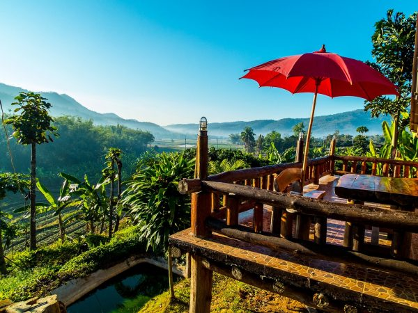 Таиланд, вид из окна отеля