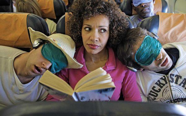 Попутчики в самолёте