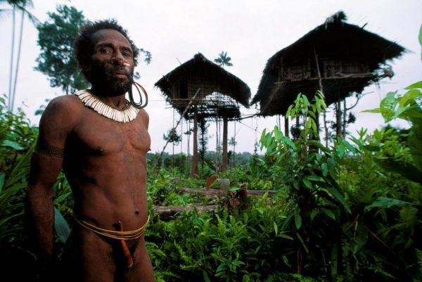 Представитель племени короваев
