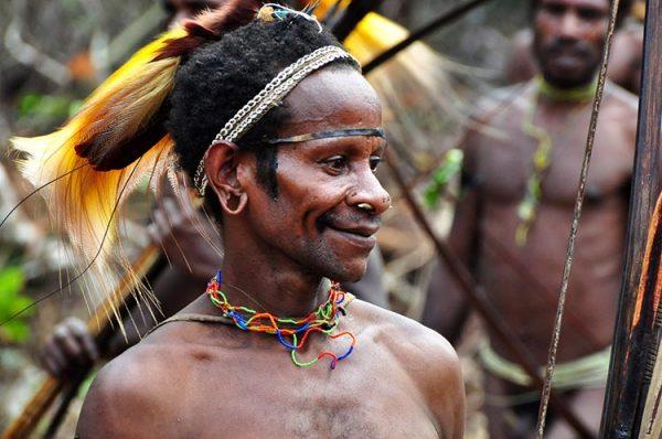 Представитель племени колуфо