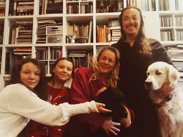 Грета Тунберг и семья